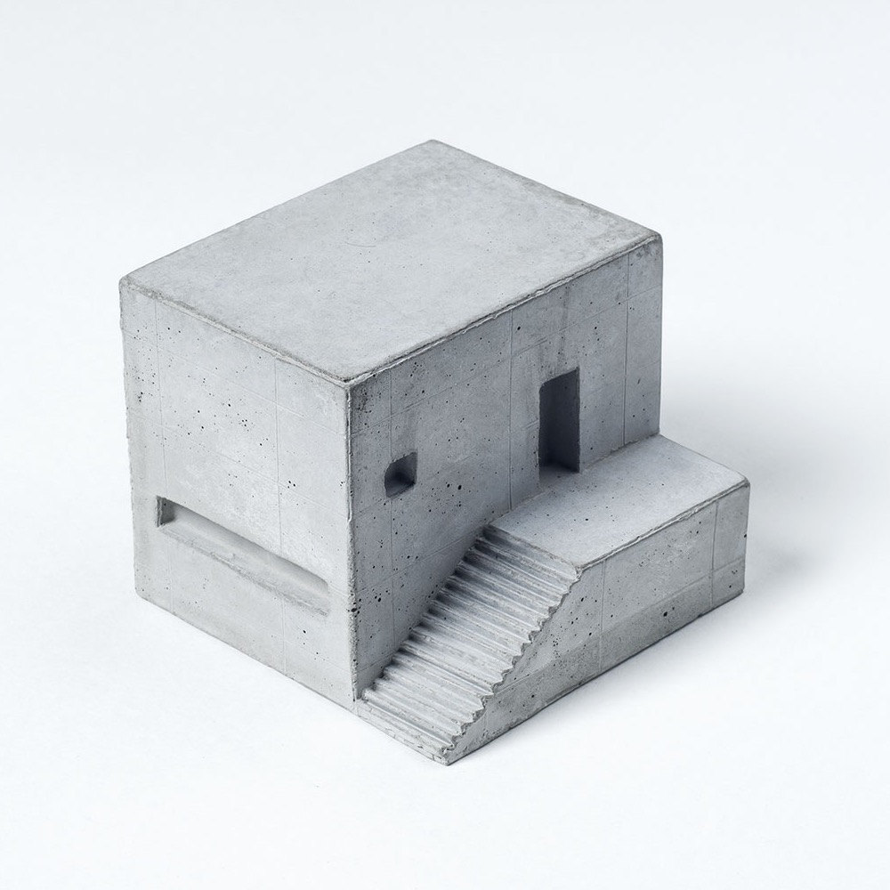 Miniatura di casa in cemento keblog shop for Piccoli piani di casa in cemento