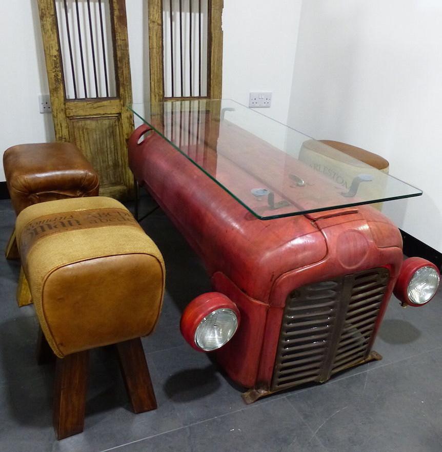 Tavolini Da Salotto Vintage.Tavolino Da Salotto Con Trattore Vintage Keblog Shop