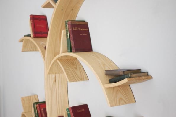Libreria mensole a forma di albero keblog shop for Mensole su misura ikea