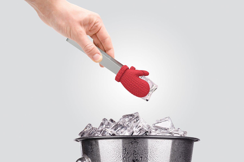 Pinze per ghiaccio con mini guanti da neve keblog shop - Pinze per cucina ...