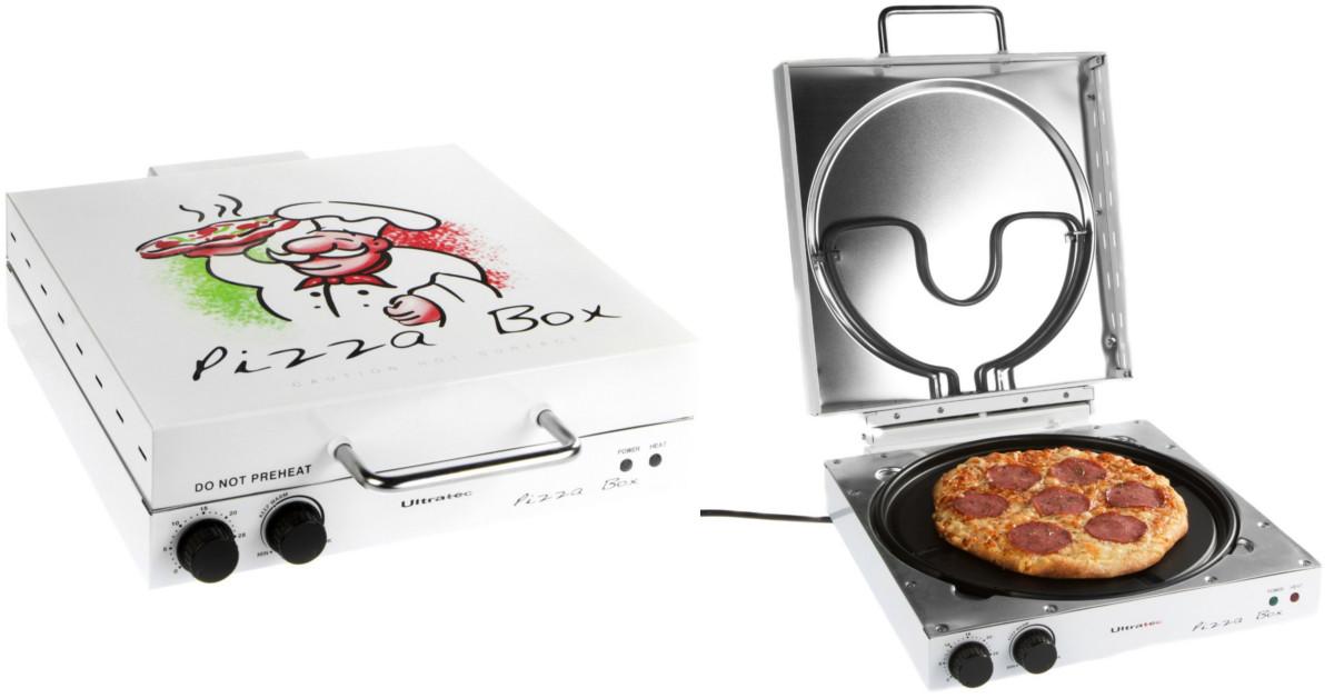 Mini forno portatile a forma di cartone per pizze keblog for Forno per pizza portatile