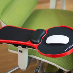 Supporto regolabile da PC per braccio polso per sedia e scrivania