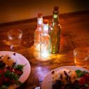 Tappo bottiglia con luce LED ricaricabile
