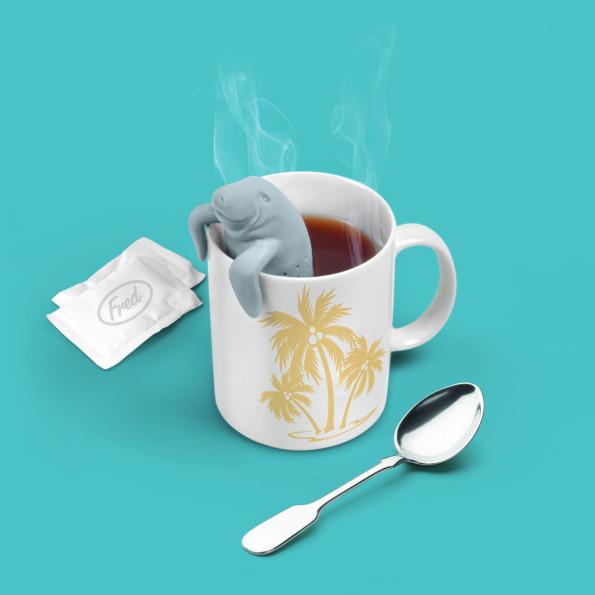 Infusore da tè a forma di leone marino